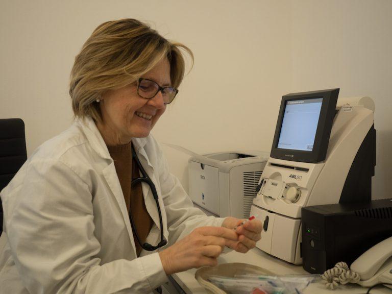 Emogasanalizzatore studio pneumologia Palermo