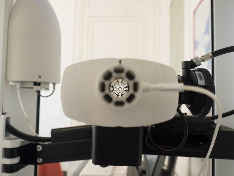 Sensore cabina pletismografica
