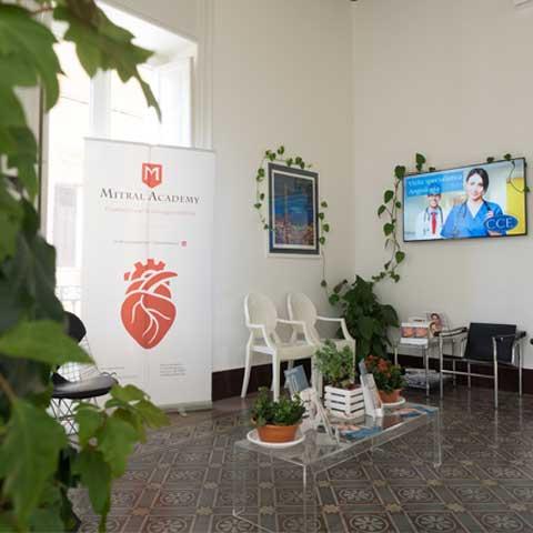 Particolare Sala d'attesa del CCE di Palermo